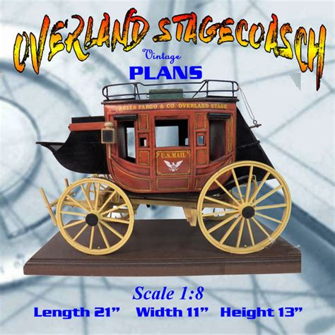 Scale Model Stagecoach Plans