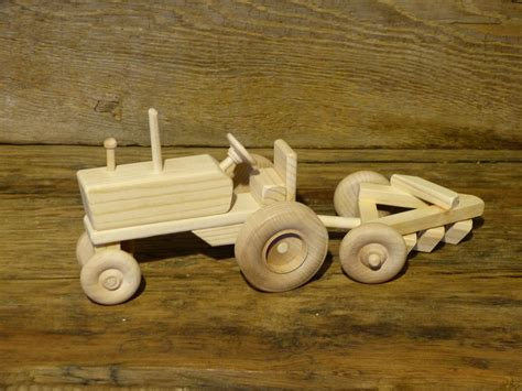 Scale Wood Toy Tractor Plans Wooden Photo