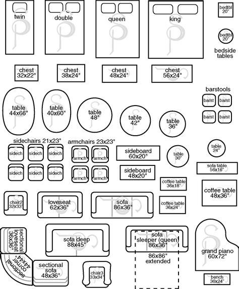 Scale-Furniture-Plan