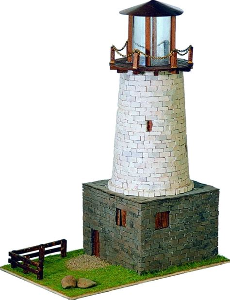 Scale-Model-Lighthouse-Plans