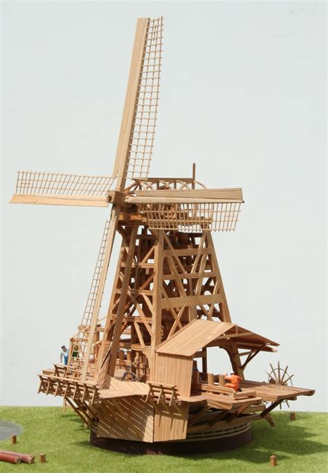 Scale-Model-Windmill-Plans