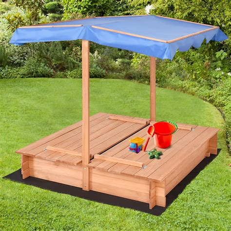 School Sandboxes With Canopy