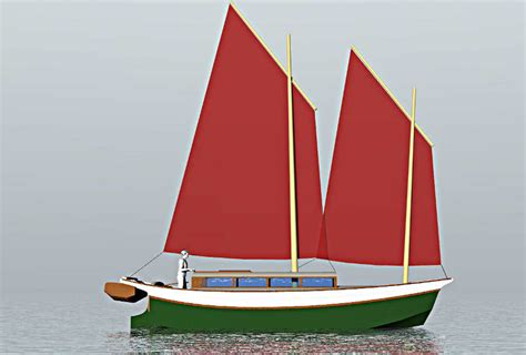 Scow Boats Plans