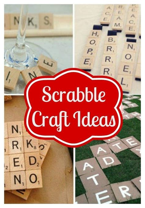 Scrabble Diy Ideas
