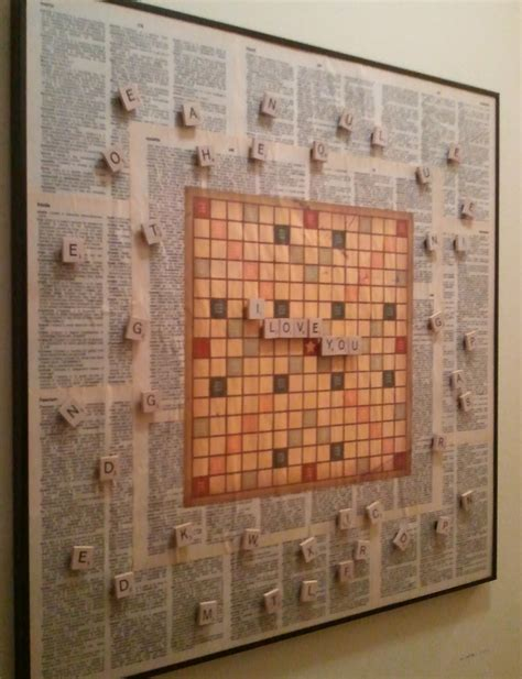 Scrabble Diy Projects