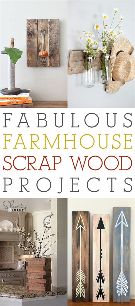 Scrap Wood Projects Diy Farmhouse