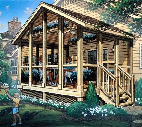 Screened-In-Deck-Plans