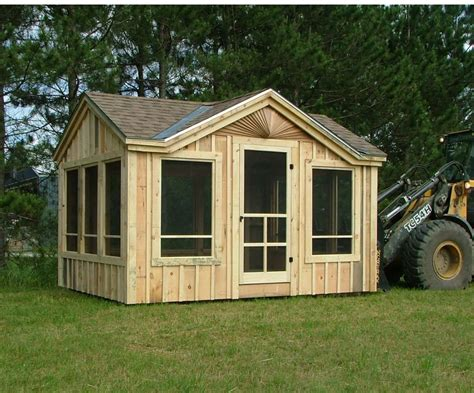 Screened-In-Shed-Plans