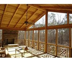 Best Screened in porch plans free
