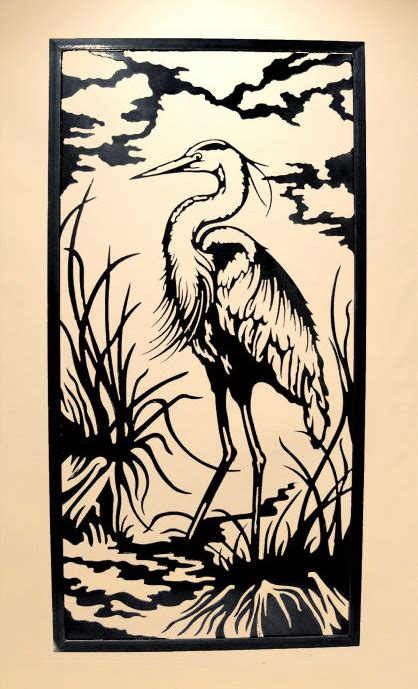 Scroll Saw Art Patterns For Herons Cove