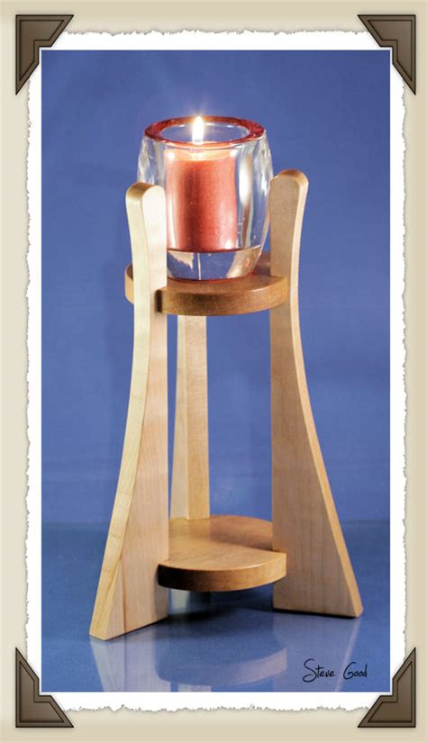 Scroll Saw Candle Holder Patterns Free