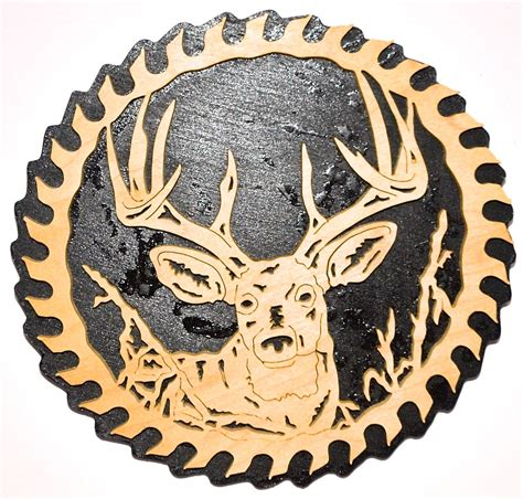 Scroll Saw Deer Paterns