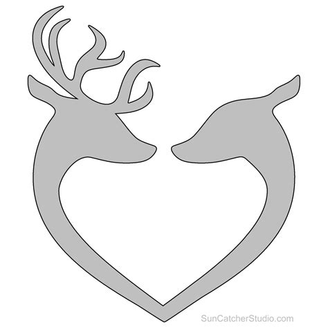 Scroll Saw Deer Templates For Wood