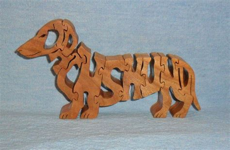 Scroll Saw Dog Puzzle Patterns