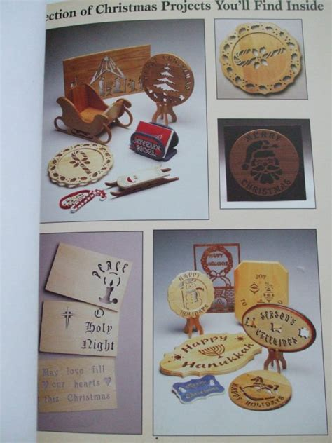 Scroll Saw Holiday Patterns Book