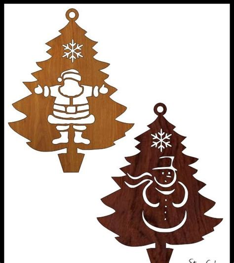 Scroll Saw Patterns Christmas Trees
