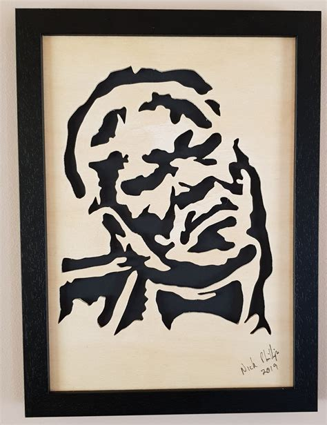 Scroll Saw Portraits Business