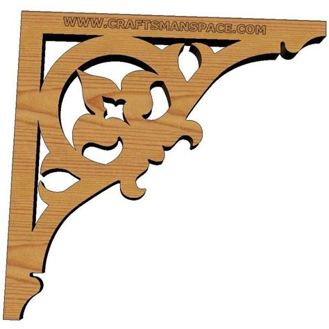 Scroll Saw Shelf Brackets