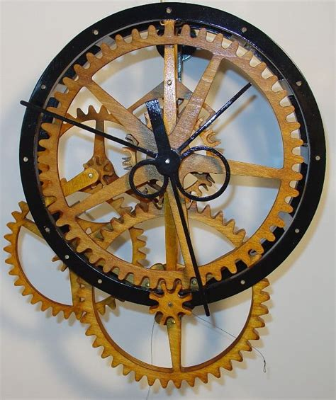 Scroll Saw Wooden Clock Plans
