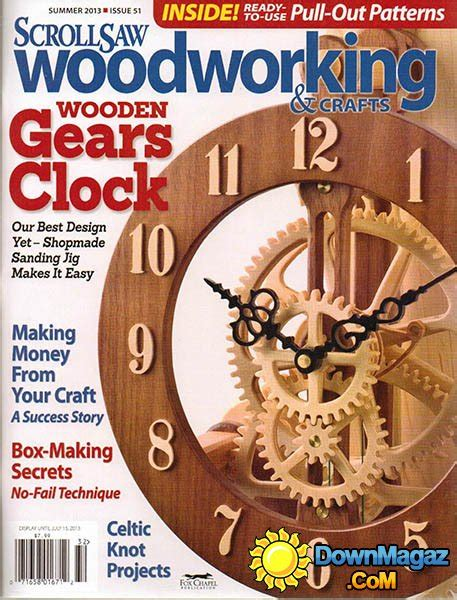 Scroll Saw Woodworking And Crafts Magazine