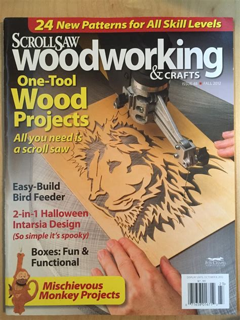 Scroll Saw Woodworking Magazine Reviews