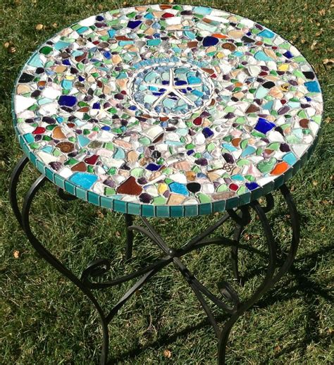 Sea Glass Table Top Diy