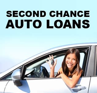 Second Chance Financing Auto Loans