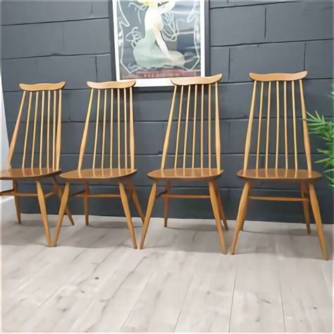 Second Hand Ercol Dining Chairs For Sale