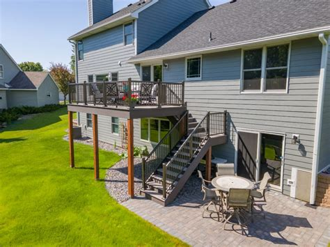 Second Story Deck Plans Free