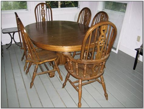 Second-Hand-Farmhouse-Table-And-Chairs