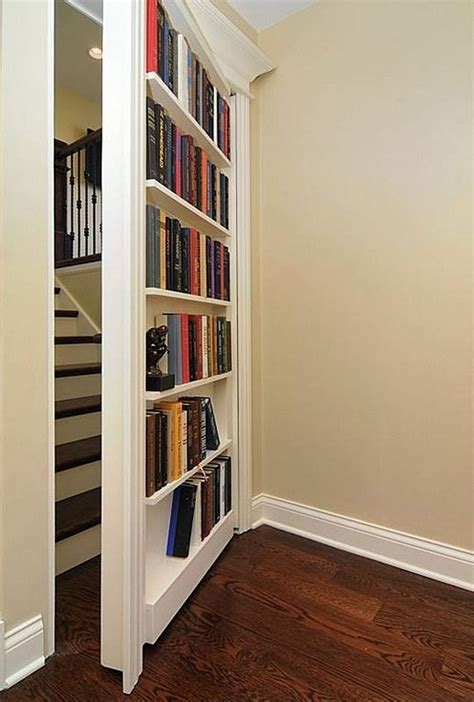 Secret Bookshelf Door Diy