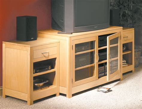 Sectional Free Entertainment Center Woodworking Plans