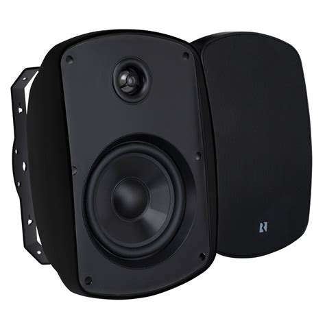 Selected 4' Outdoor Speaker Black By Russound
