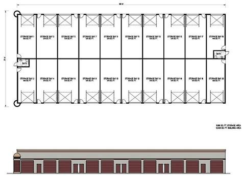 Self Storage Facility Plans