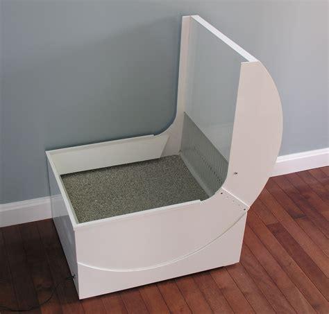 Self-Cleaning-Litter-Box-Enclosure-Diy