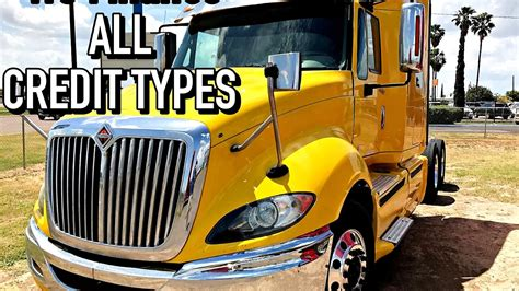 Semi Trailer Financing Bad Credit