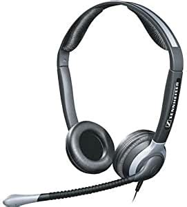 Sennheiser 005360 CC 540 Stereo Headset - Stereo - Wired - 300 Ohm - 300 Hz - 3.40 kHz - Over-the-head - Binaural - Semi-open - 3.28 ft Cable