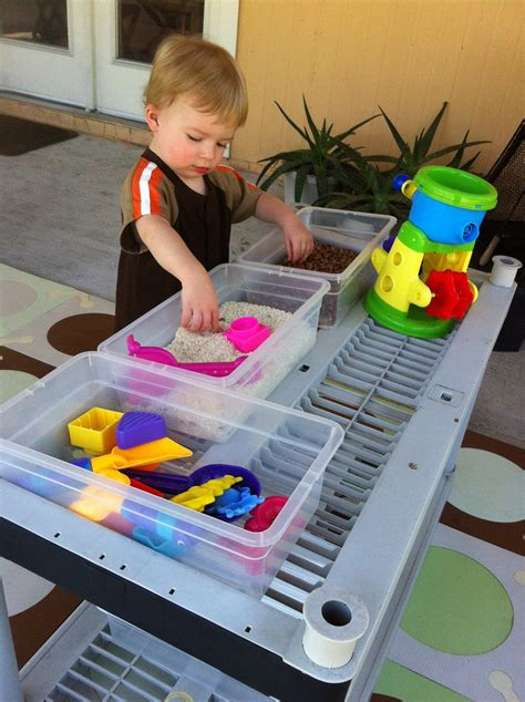 Sensory Table Diy Paint