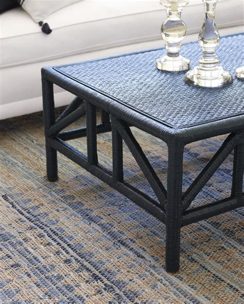 Serena And Lily Trestle Side Table