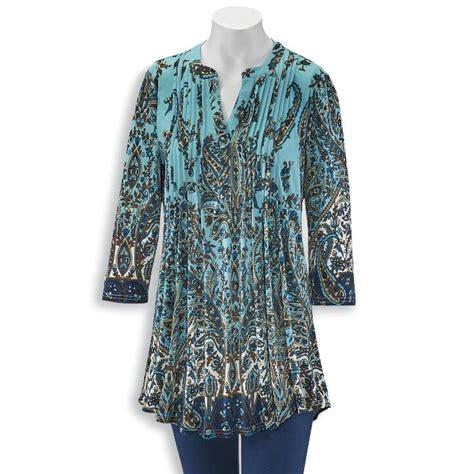 0c5b4f8ecb8 Serengeti Womens Tunic Tops - Shop For Tunic Tops Today.