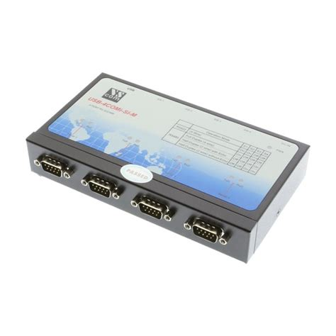 SerialGear® Single Port RS-232 USB-to-Serial Adapter, with Optical-isolation and Surge Protection