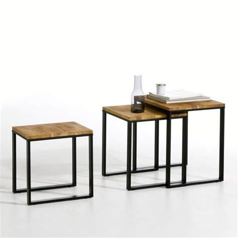 Set Of 3 Hiba Nested Side Tables