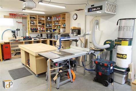 Setting Up A Tiny Woodworking Shop