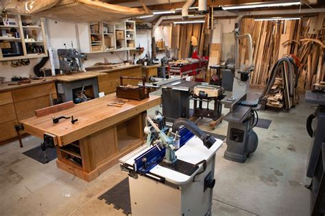 Setting Up A Woodworking Shop And Metal Working Shop