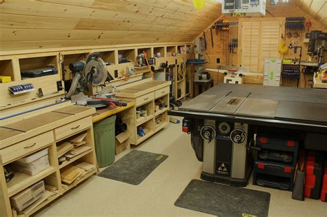 Setting Up Home Woodworking Shops