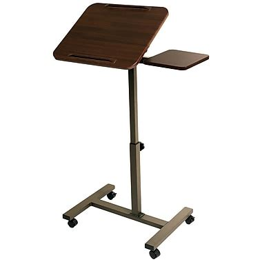 Seville Mobile Laptop Desk With Side Table