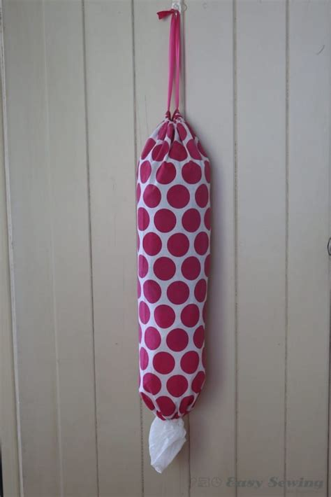 Sew Grocery Bag Dispenser