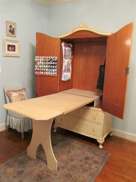 Sewing Cabinet Armoire Diy