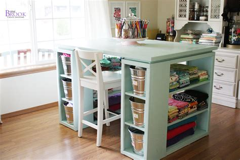Sewing Desk Plans Built In