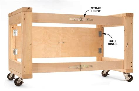 Sewing Folding Work Table Plans